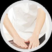 2)怪我の治療中